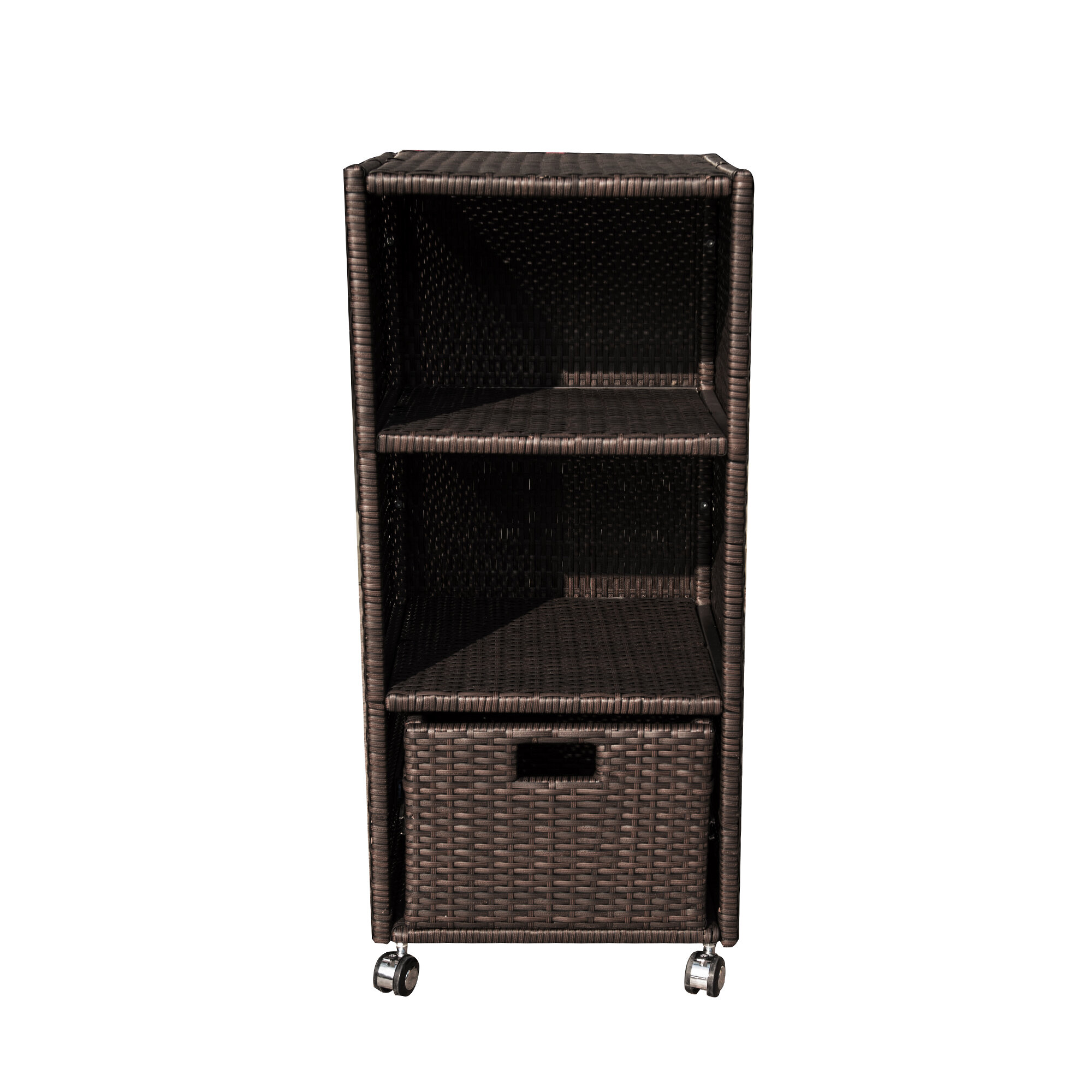 Completely new Island Retreat Wheeled Wicker Towel Valet & Reviews | Wayfair QH57