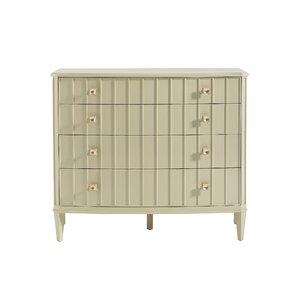 Crestaire Monterey 4 Drawer Dresser by Stanley Furniture