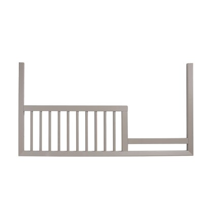 Mack & Milo McPartland Toddler Bed  Rail Color: French White