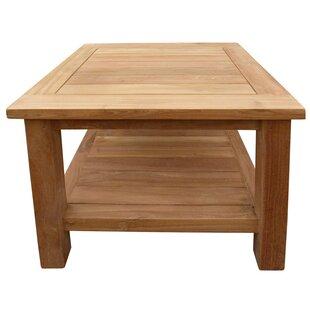 Attirant Cortright Teak Side Table