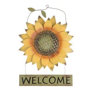 Gracie Oaks Sunflowers In Frame Wooden Wall Decor Wayfair