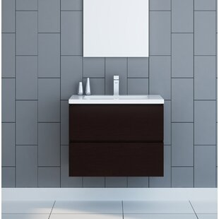 Modern Contemporary Bathroom Wall Mounted Vanities Allmodern