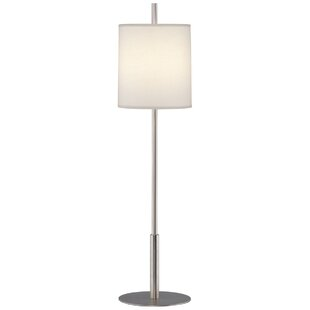 Stainless steel table lamps youll love wayfair echo 325 buffet lamp aloadofball Images