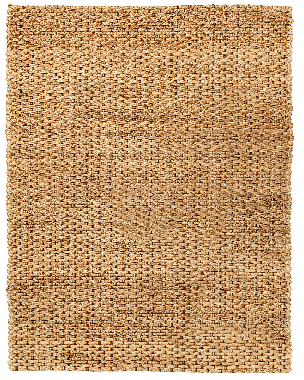 Lumbrook Hand-Woven Brown Rug