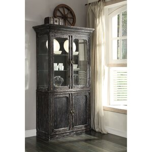 Kaitlin Lighted China Cabinet by Laurel F..
