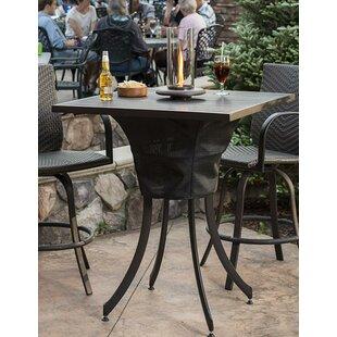 Umbrella Hole Patio Bar Tables You Ll Love Wayfair