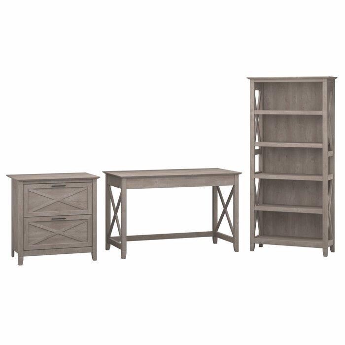 super popular a5f97 4cd00 Oridatown Desk, Bookcase and Filing Cabinet Set