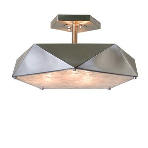 Ontiveros 3-Light Semi Flush Mount