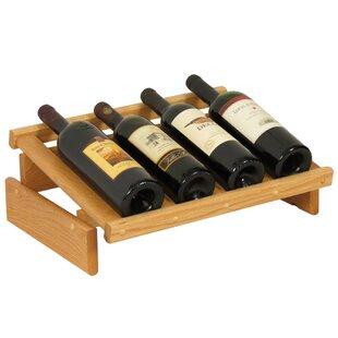Dakota 4 Bottle Tabletop Wine Rack