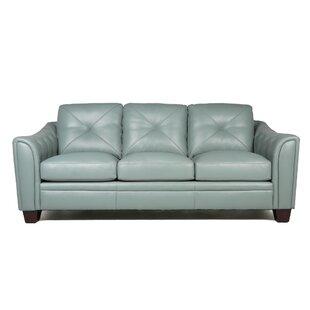 Full Grain Leather Sofa Wayfair