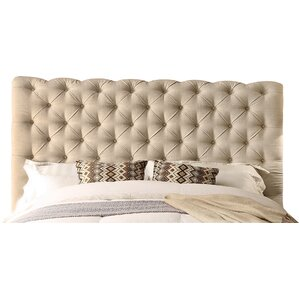 Calia Queen Upholstered Panel Bed by Mulhouse Furniture