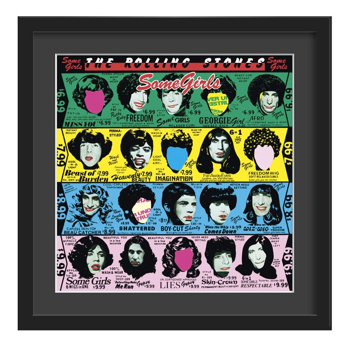 'The Rolling Stones, Some Girls' Framed Graphic Art Print