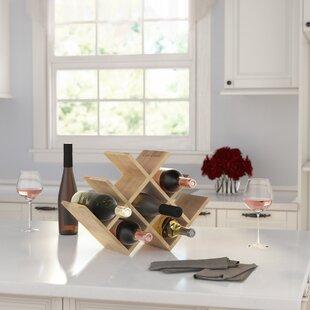 Varela 8 Bottle Tabletop Wine Rack