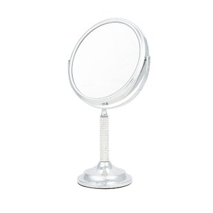 7924cb27c6 Crystal Stem 5x Magnification Makeup/Shaving Mirror. by Danielle Creations