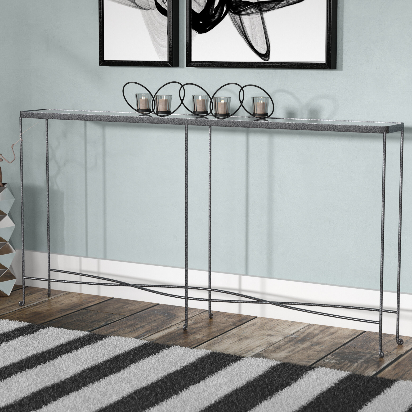 Orren Ellis Elizabella Console Table U0026 Reviews | Wayfair