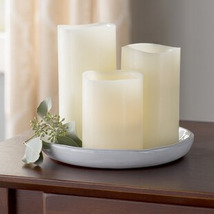 b87925496923 3 Piece Scented Flameless Candle Set