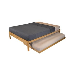 nomad 2 platform bed with trundle