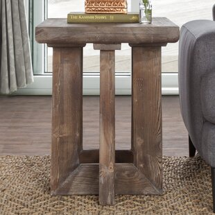 Charmant Pinellas Reclaimed Pine End Table