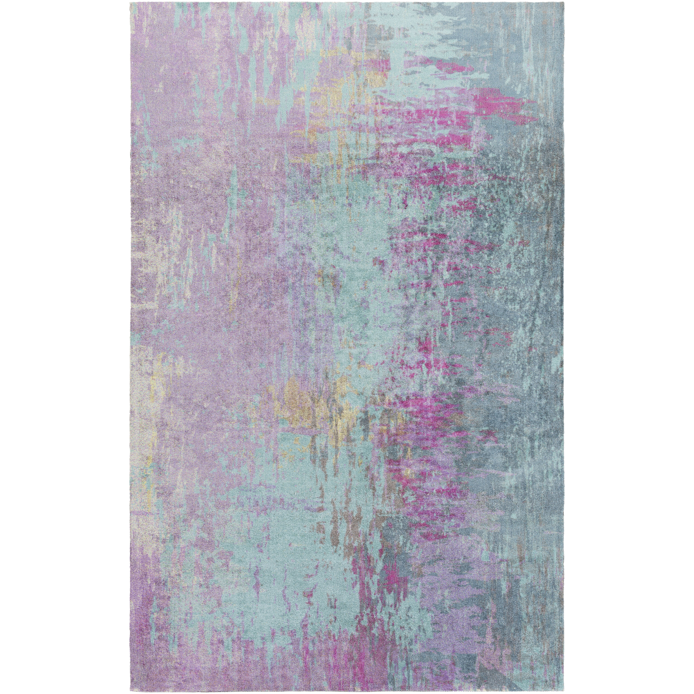 Mercury Row Arthurs Blue/Purple Area Rug & Reviews | Wayfair