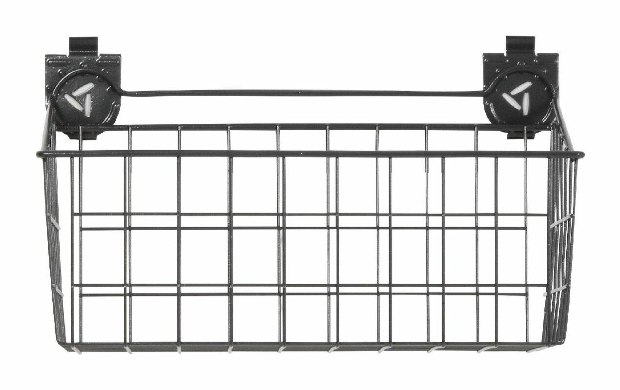 Wire Basket Garage Storage Slatwall Bins & Baskets & Reviews | Joss ...
