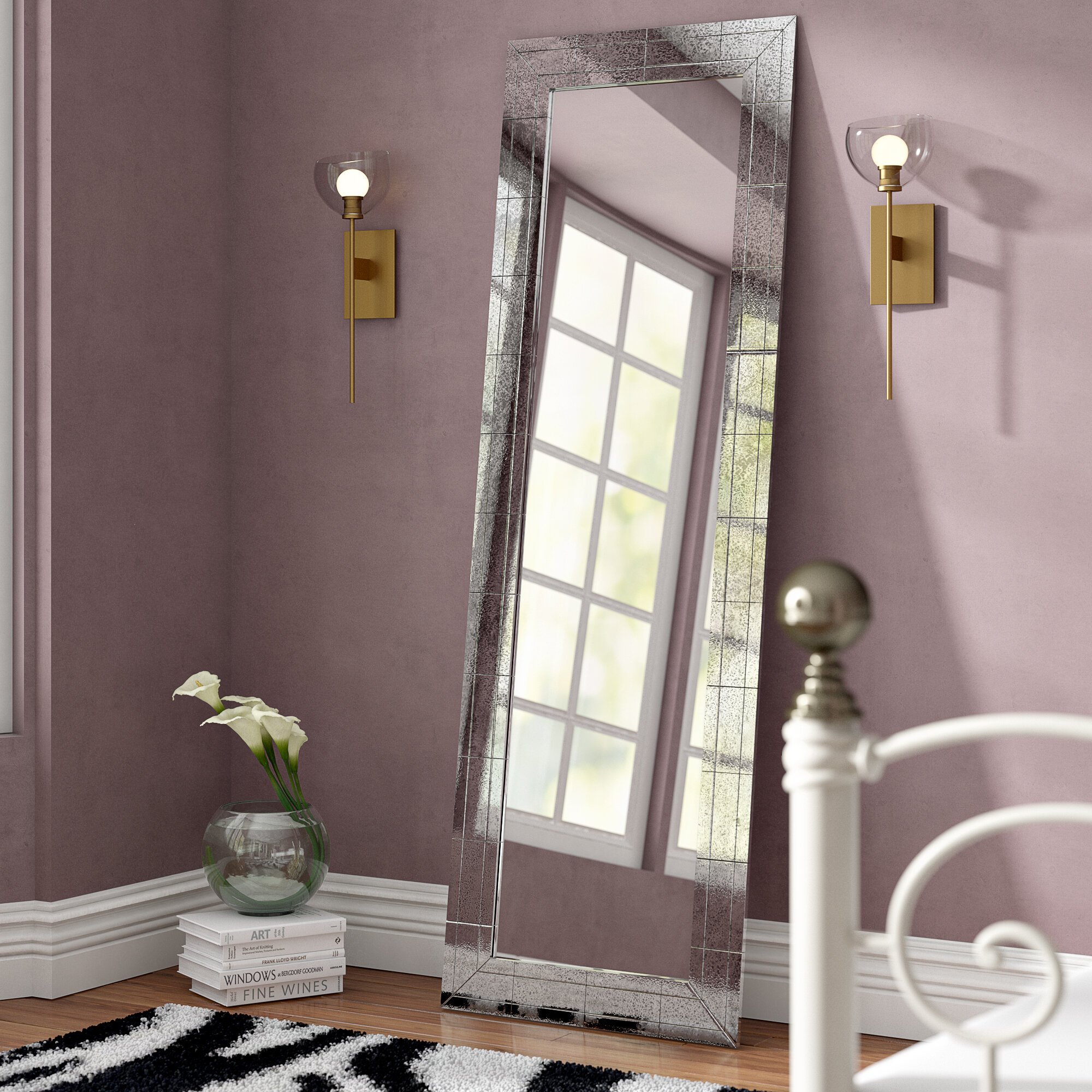 Willa Arlo Interiors Bryleigh Full Length Mirror & Reviews | Wayfair