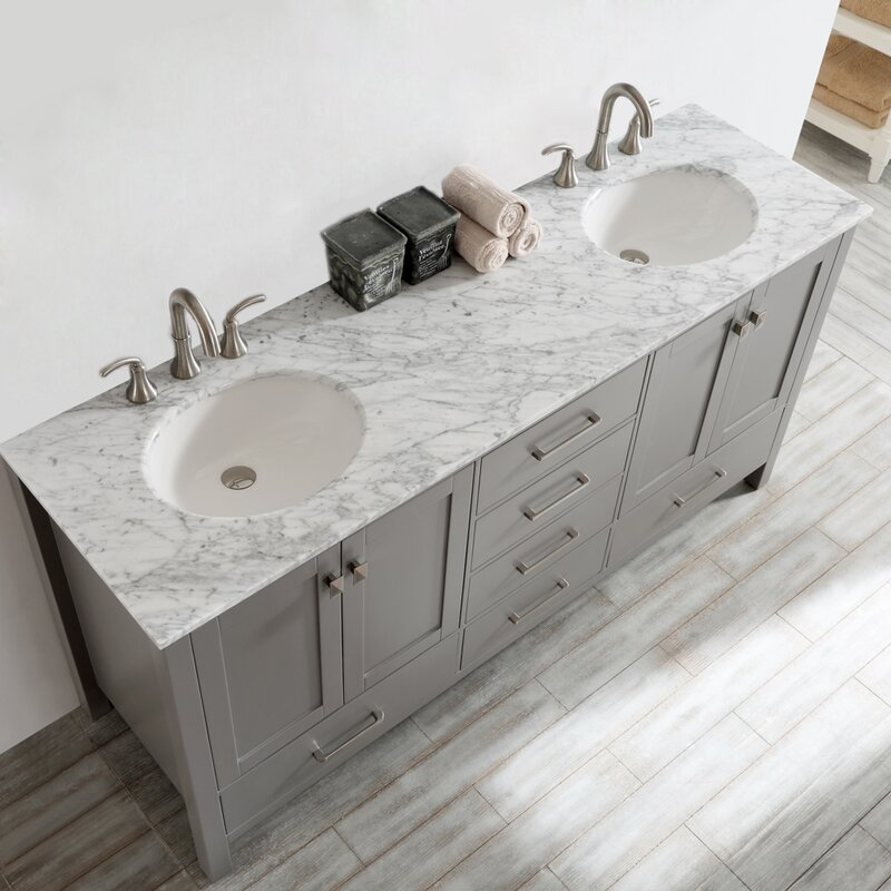 Pleasing Newtown 72 Double Bathroom Vanity Set Download Free Architecture Designs Embacsunscenecom