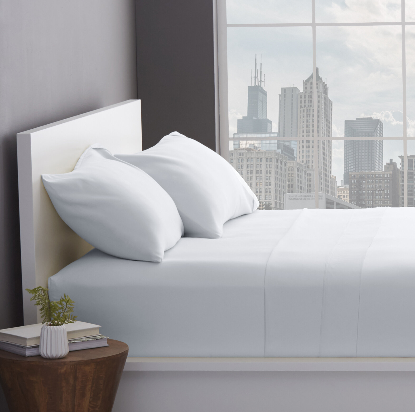 Simple Luxury 1200 Thread Count Cotton Blend Sheet Set U0026 Reviews   Wayfair