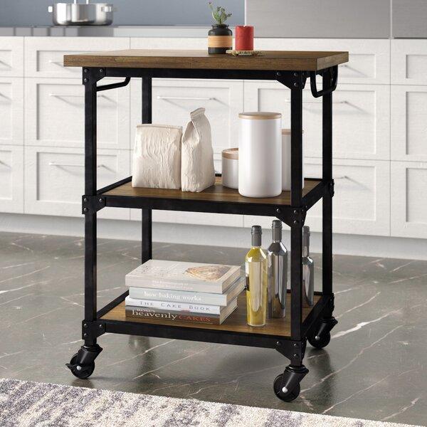 Williston Forge Denice Multifunction Kitchen Cart