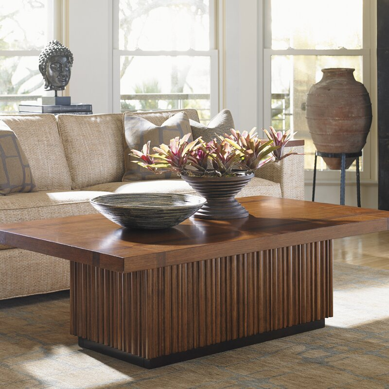 Tommy Bahama Home Island Fusion Castaway Coffee Table