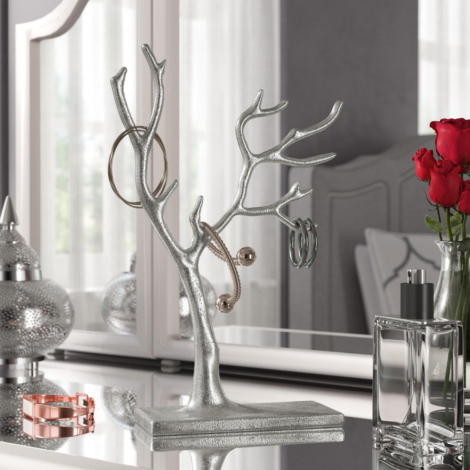 Willa Arlo Interiors Multi Branch Tree Of Life Jewelry Holder Reviews Wayfair