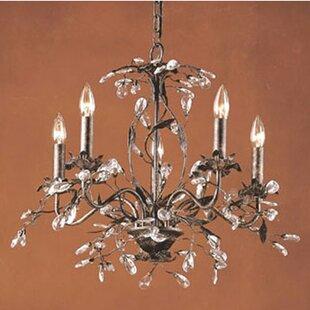 Hampton bay chandelier wayfair 5 light candle style chandelier aloadofball Choice Image