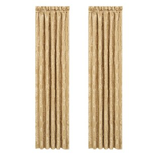 Colonial Curtain Panels Set Of 2