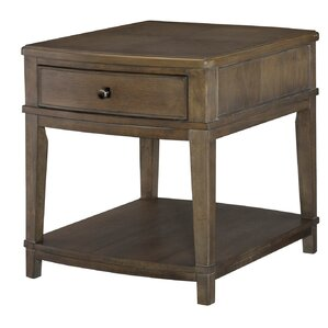 Baford Square End Table by Gracie Oaks