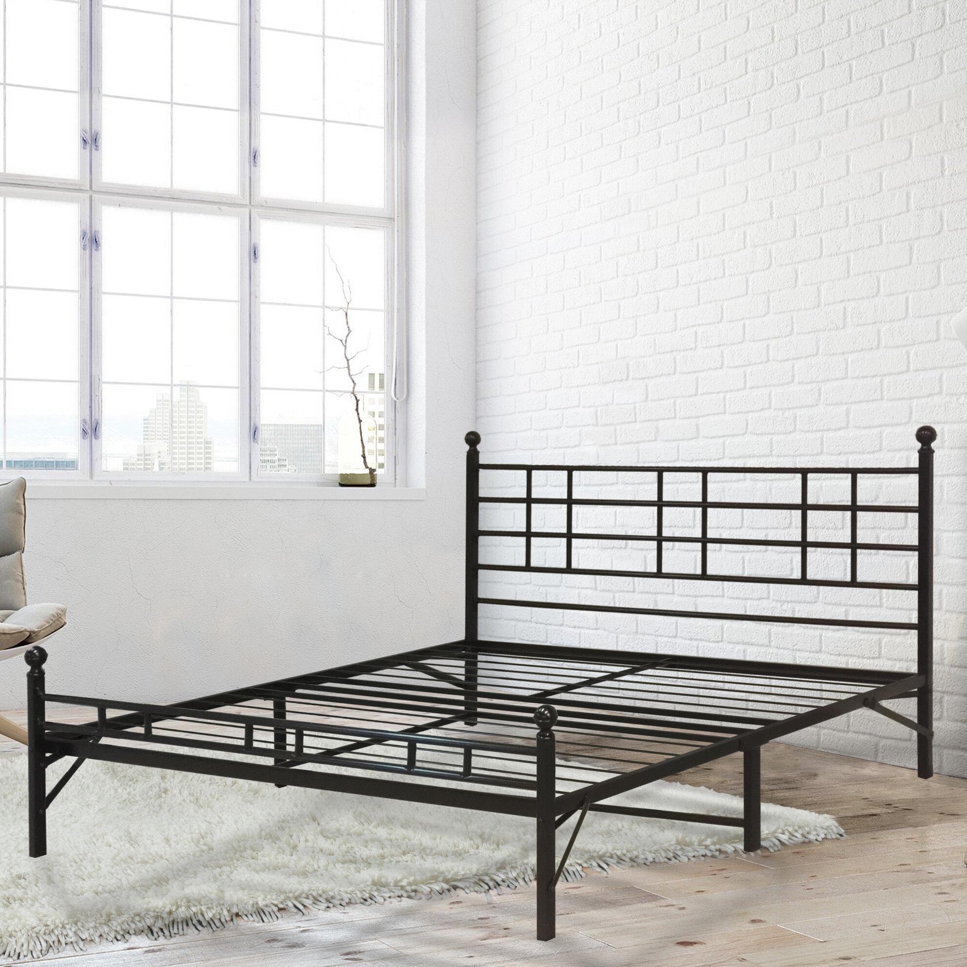 Best Price Quality Model H Platform Bed Frame & Reviews | Wayfair