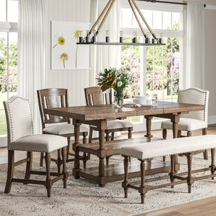 52941c1cf Counter Height Trestle Kitchen   Dining Room Sets You ll Love