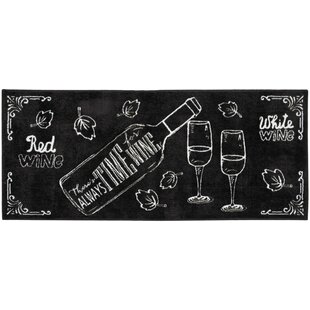 Read Reviews Woodberry Accent Décor Black/White Area Rug ByWinston Porter