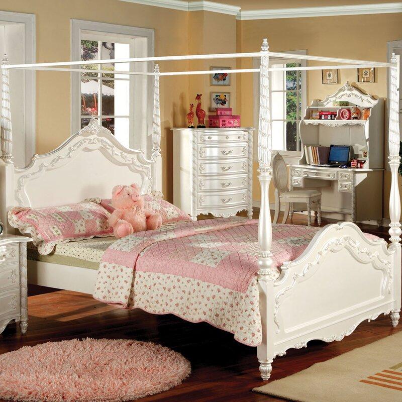 Grand Furniture Kids: Astoria Grand Levitt Canopy Bed & Reviews