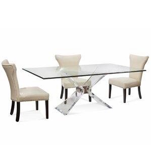 Victor Modern 5 Piece Dining Set by Wade Logan