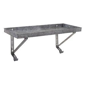 keller galvanized shelf