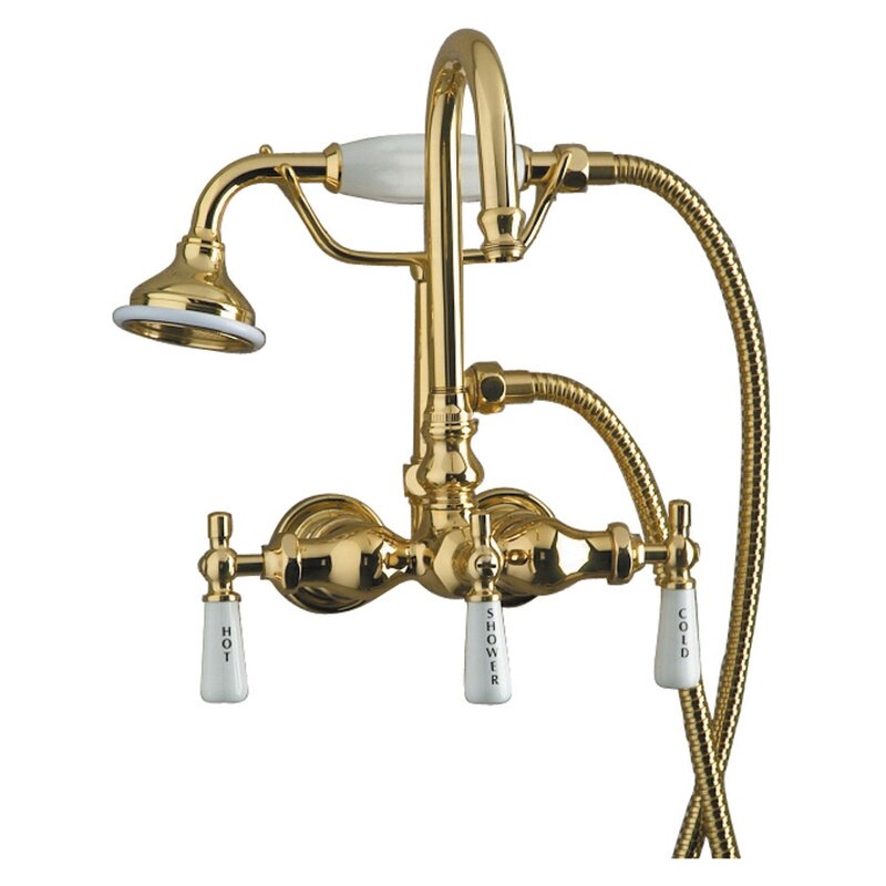 Barclay Tub Filler Faucet with Code Spout | Wayfair