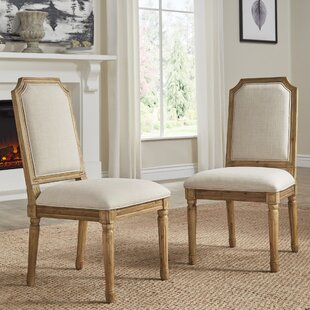 Lachance Arched Upholstered Dining Chair (Set of 2)
