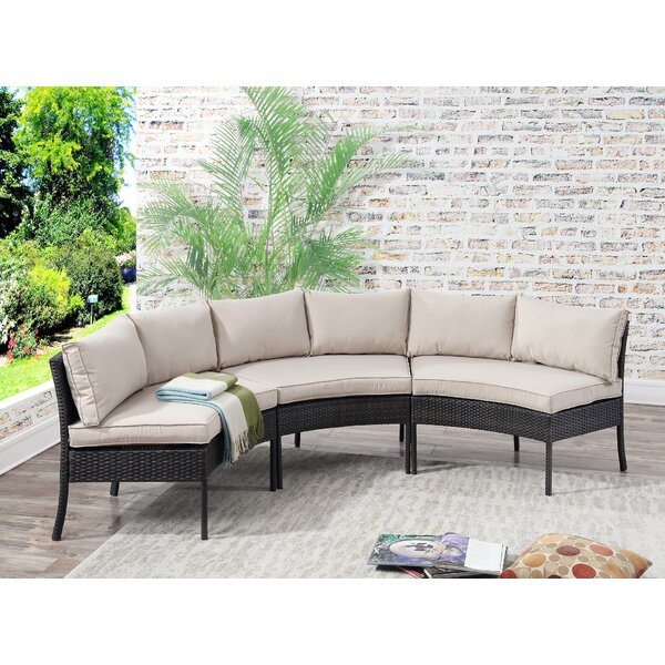 Genial Circular Patio Sectional | Wayfair