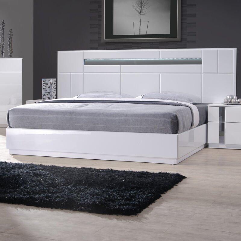 adelaide platform bed reviews allmodern. Black Bedroom Furniture Sets. Home Design Ideas