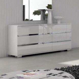 Rno 6 Drawer Double Dresser