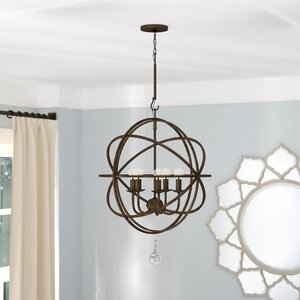 Rodrigues 5-Light Candle-Style Chandelier