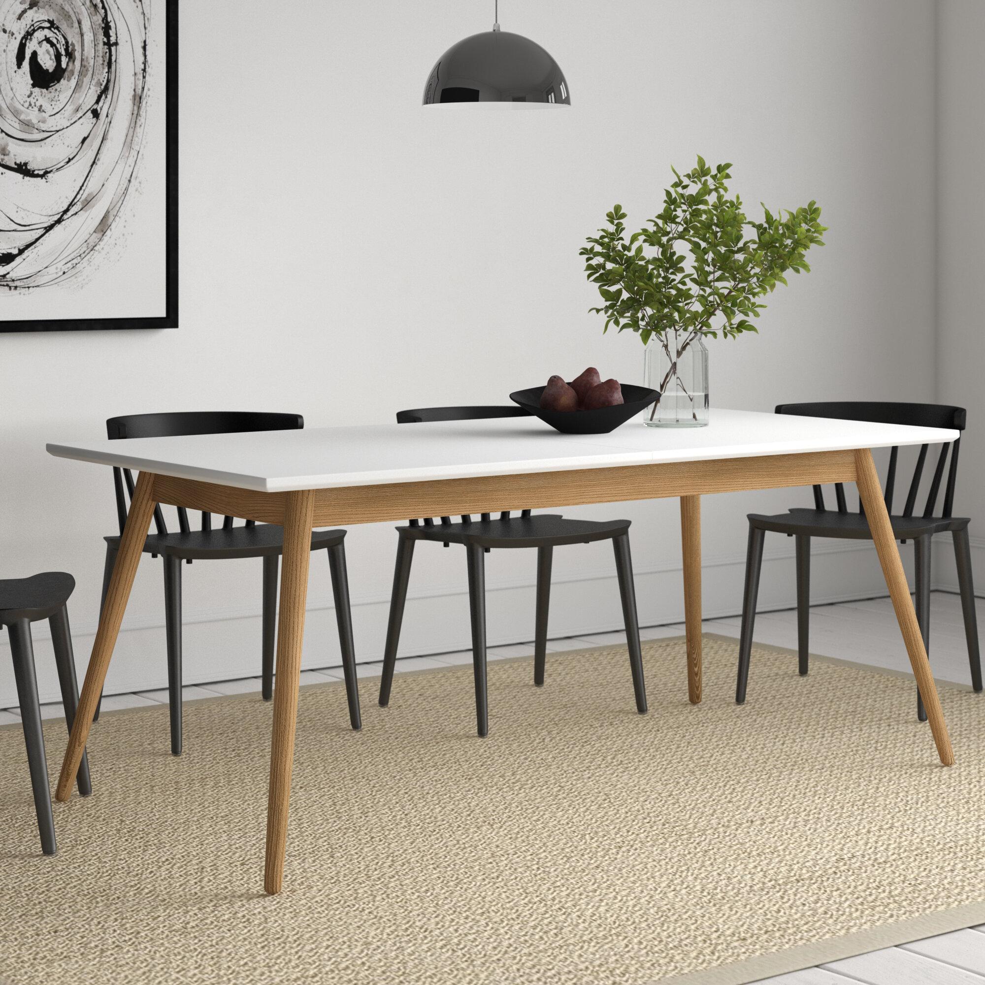 Wayfair & Dot Extendable Dining Table