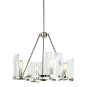 Sager 4-Light Candle-Style Chandelier