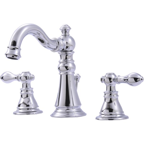Ultra Faucets Widespread Bathroom Faucet With Double Handles U0026 Reviews |  Wayfair