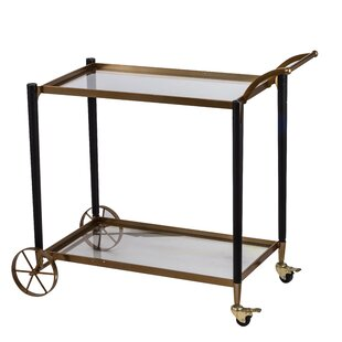 Gaddy Classic Chic Serving Bar Cart