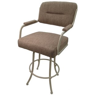 Sheryll 26 Swivel Bar Stool with Cushion
